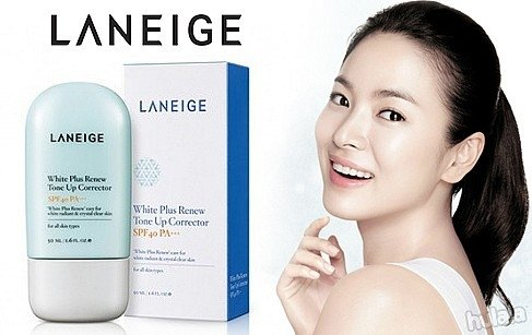 Laneige ranked Korea's most valuable cosmetics company