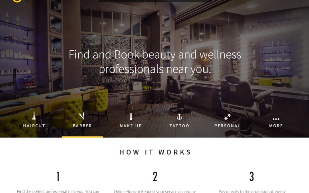 Website allowing visitors to book beauty services launches in Brazil