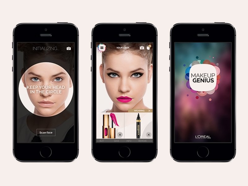 L'Oreal makes waves in China with Makeup Genius App