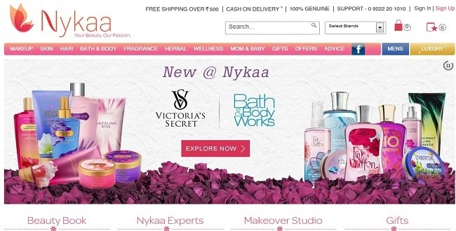 Online cosmetic retailer Nykaa raises $9.5 million in Series B funding