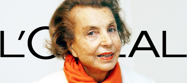 Forbes Rich List labels L'Oréal grand dame Lillian Bettencourt richest woman in the world