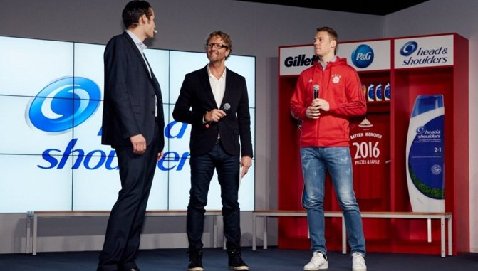 P&G signs three-year sponsorship deal with Bayern Munich