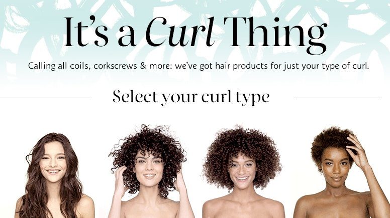 Sephora launches digital product finder for different types of curly-hair