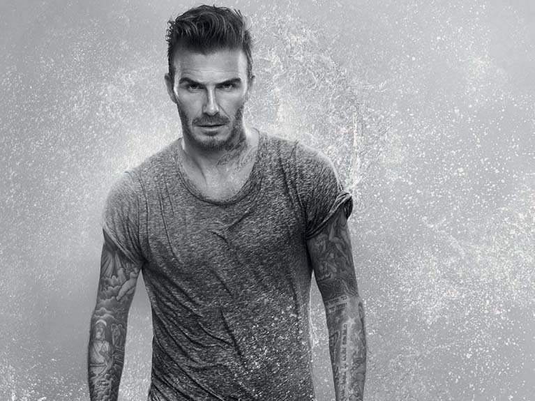 Biotherm teams up with David Beckham to create skin care line