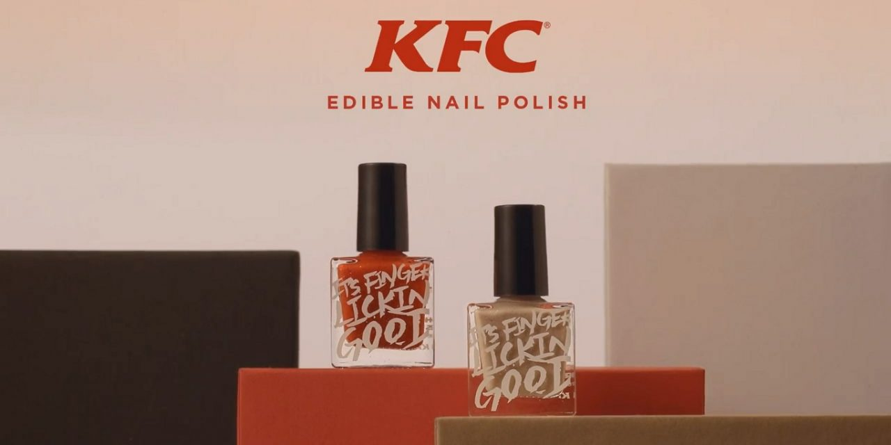Chicken dippers: KFC launches edible nail polish in Hong Kong