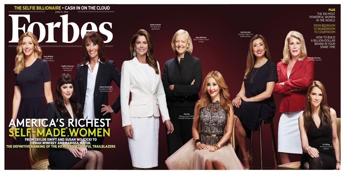 NYX founder joins Forbes' richest self-made women cover