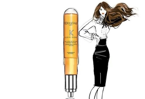 L'Oréal drafts in Sex and the City illustrator Megan Hess to promote Kératase Fusio Dose