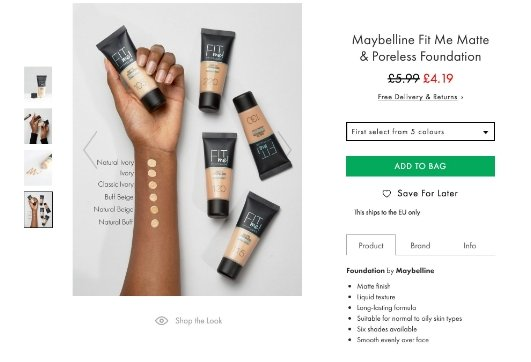 Asos slated for using black model as a 'prop' in Maybelline foundation promotion