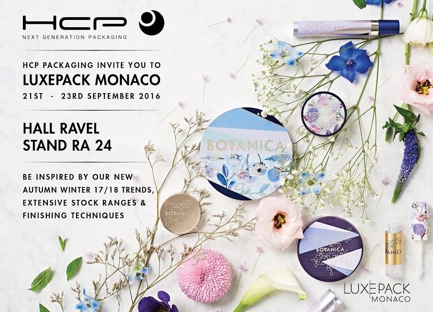 HCP Packaging Launch new AW17/18 Trends at Luxepack Monaco