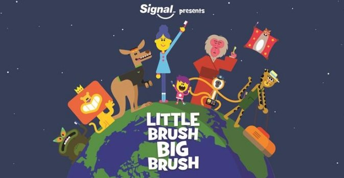 Unilever's Signal launches Facebook Messenger series to encourage kids to brush their teeth