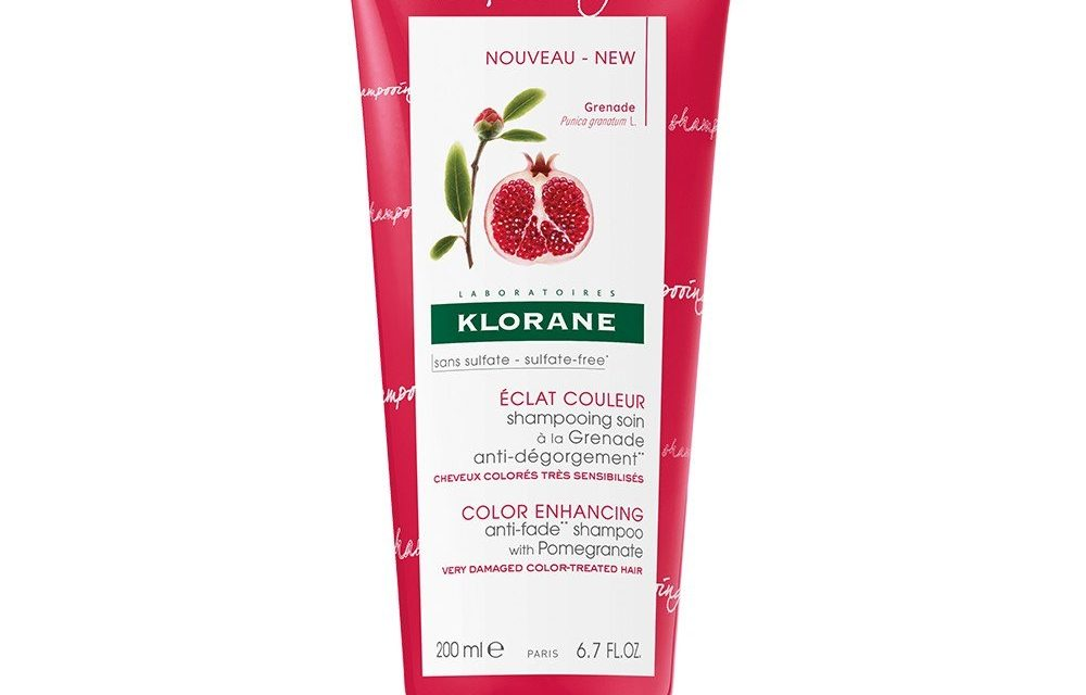 Klorane  – Color Enhancing Anti-Fade Shampoo with Pomegranate