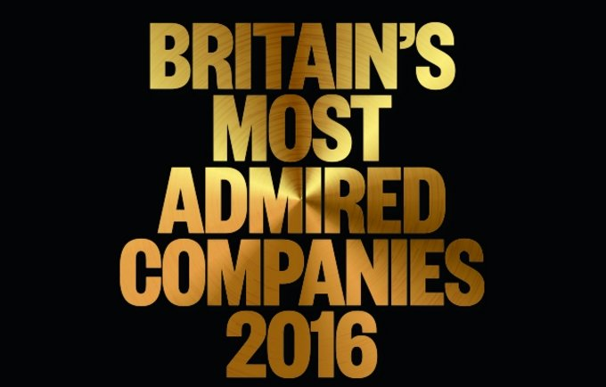 Unilever named one of Britain's Most Admired Companies