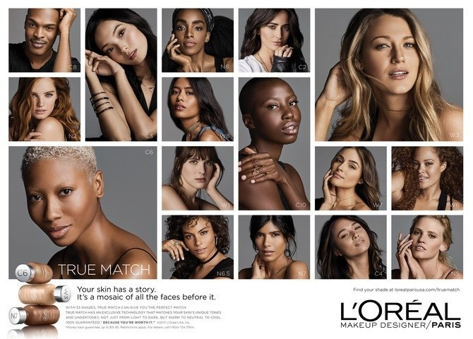 L'Oréal Paris champions diversity; launches 'Your Skin, Your Story' True Match campaign in the US