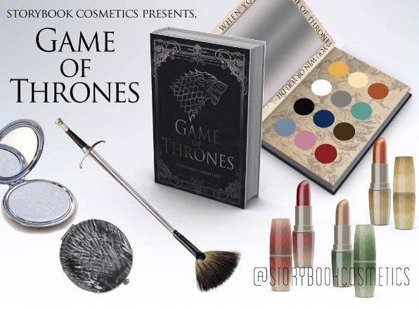 Storybook pursues license for Games of Thrones cosmetics collection; Potter fans go wild for new Wizard-inspired cosmetics collection