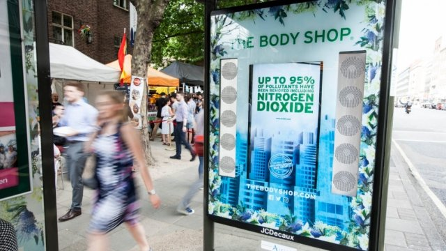 The Body Shop launches anti-pollution initiative in London