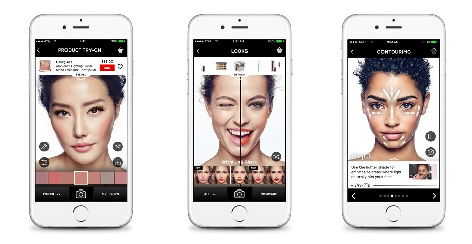 Sephora updates Virtual Artist app to include blush and contour shades