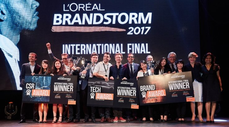 Thai team scoop L'Oréal Brandstorm prize with product designed for on-the-go millennials