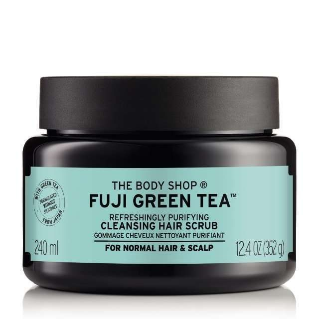 The Body Shop – Fuji Green Tea™ Refreshingly Purifying Cleansing Hair Scrub
