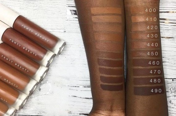 40 shades: does the sell-out Fenty Beauty range put the big brands to shame?