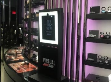 MAC Cosmetics launches in store AR mirror