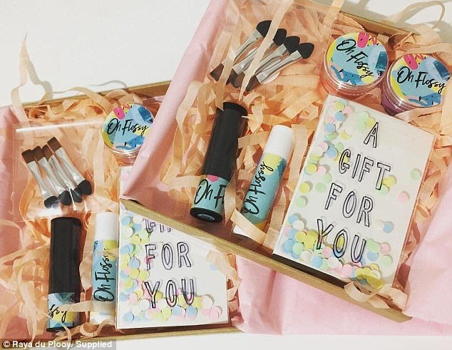 Australian mother launches toddler play-time cosmetics range 'Oh Flossy'