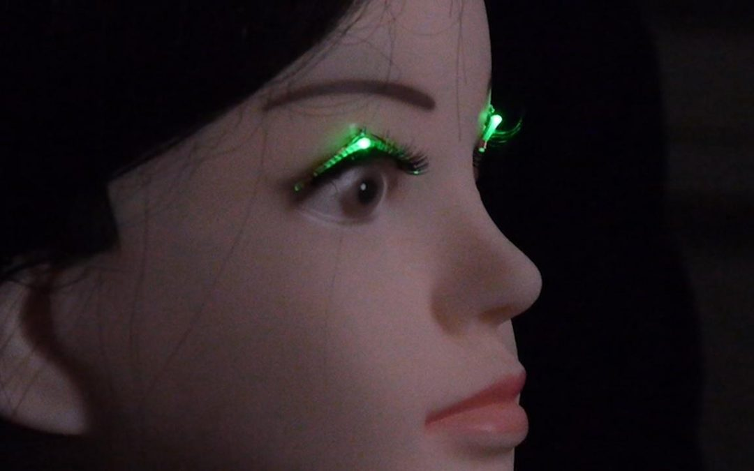 Shiseido researchers unveil LED-lashes using 'wireless power feeding'
