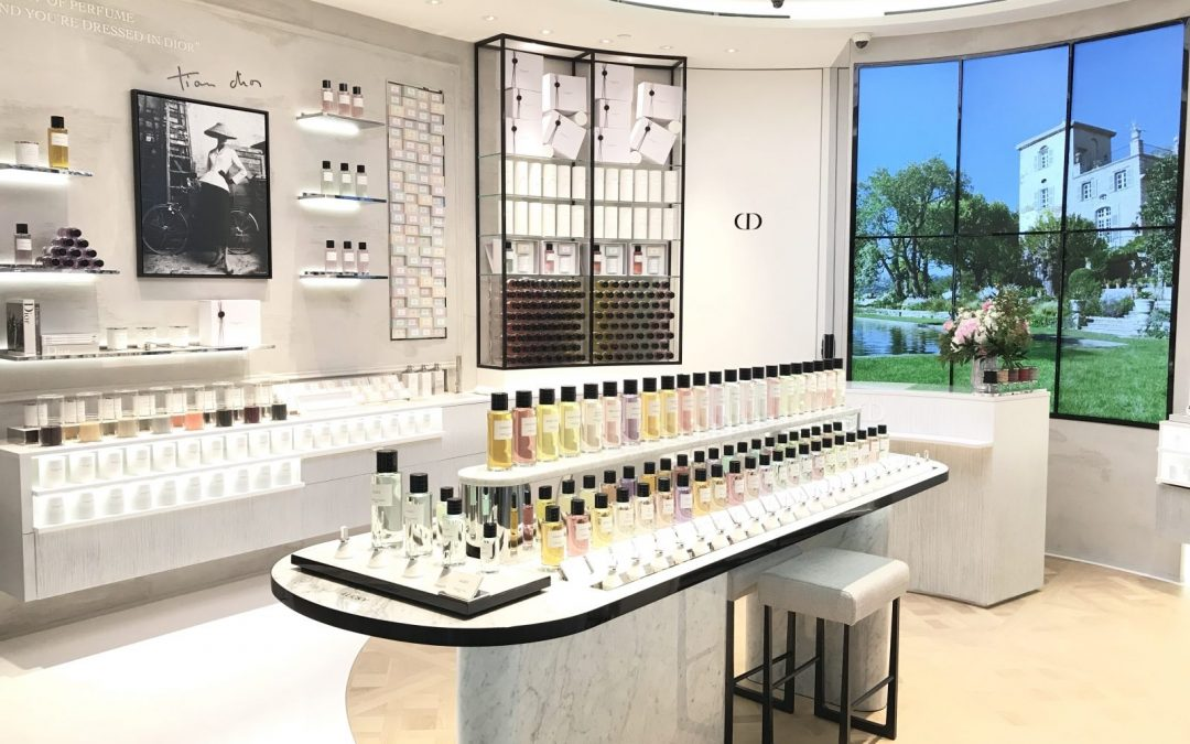Christian Dior invests in fragrance industry with perfume-only boutique opening in Singapore