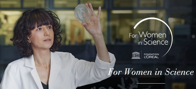 L'Oréal and UNESCO announce 2018 For Women in Science honorees