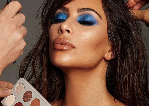 Kim Kardashian's make-up artist unveils collab with KKW Beauty