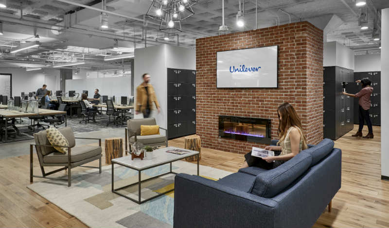 Unilever unveils new look 'Marketplace' US headquarters
