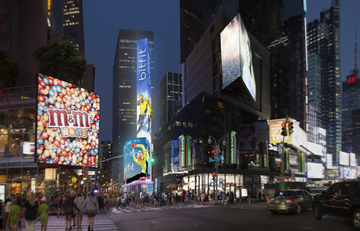 Coty to open five-storey store in Times Square?