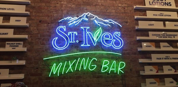 Unilever brings back St Ives Mixing Bar in NYC with new online extension of store