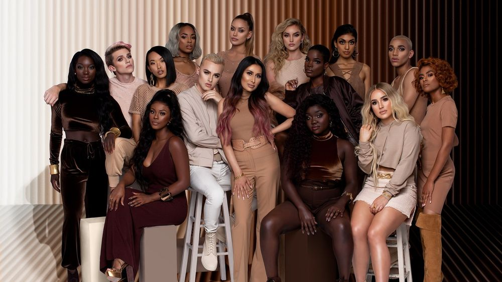 Morphe ticks diversity box with 60-shade foundation launch