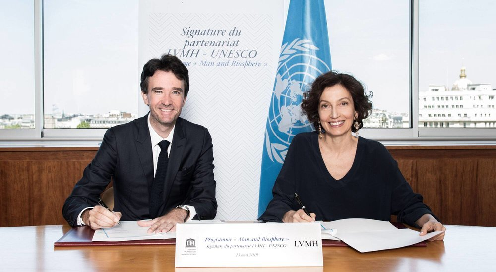 LVMH partners with UNESCO in a bid to drive 'safeguard biodiversity'