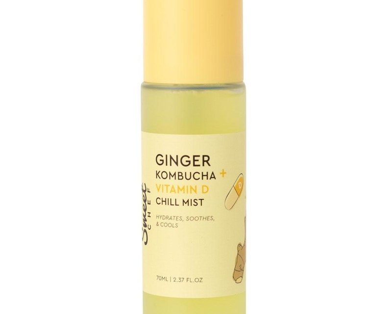 Sweet Chef  Ginger Kombucha + Vitamin D Chill Mist