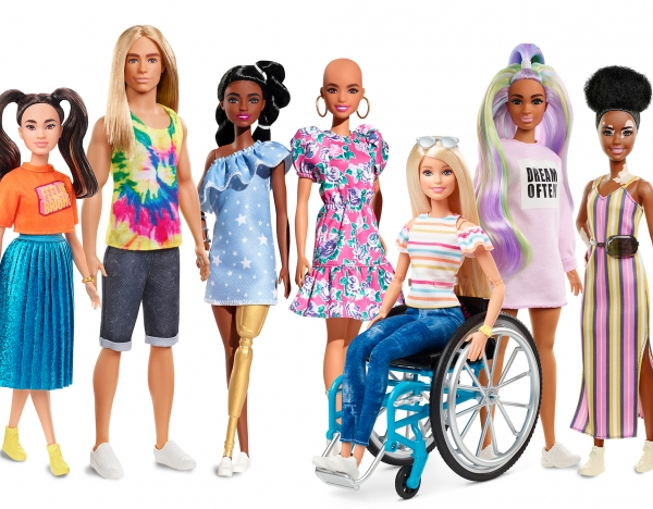 Barbie praised for launch of inclusive dolls
