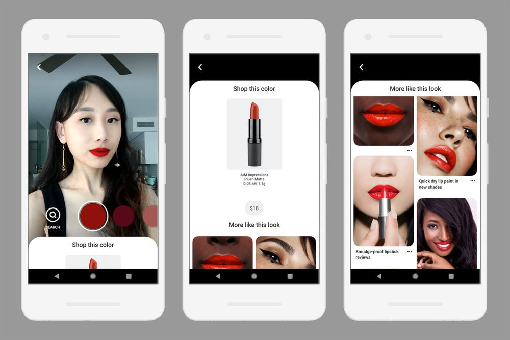 L'Oréal, Sephora and bareMinerals et al sign up to Pinterest's new AR tech