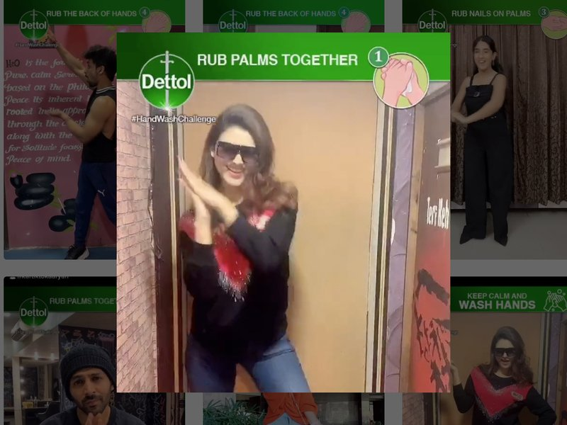 Reckitt Benckiser #HandWashChallenge TikTok challenge accrues 18 billion views in a week