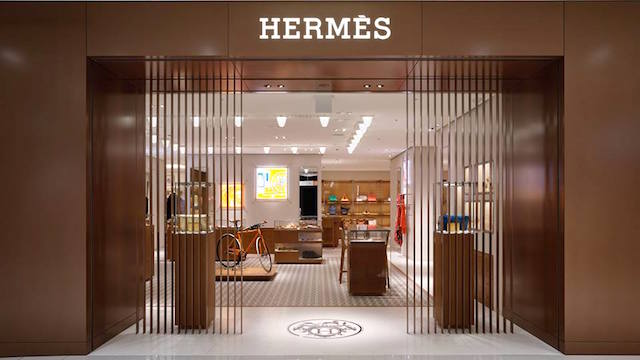 Hermes closes production sites in France