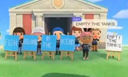PETA stages protest on Nintendo's Animal Crossing: New Horizons game