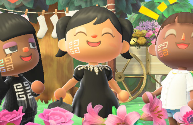 Parfums Givenchy launches make-up looks on Nintendo's Animal Crossing