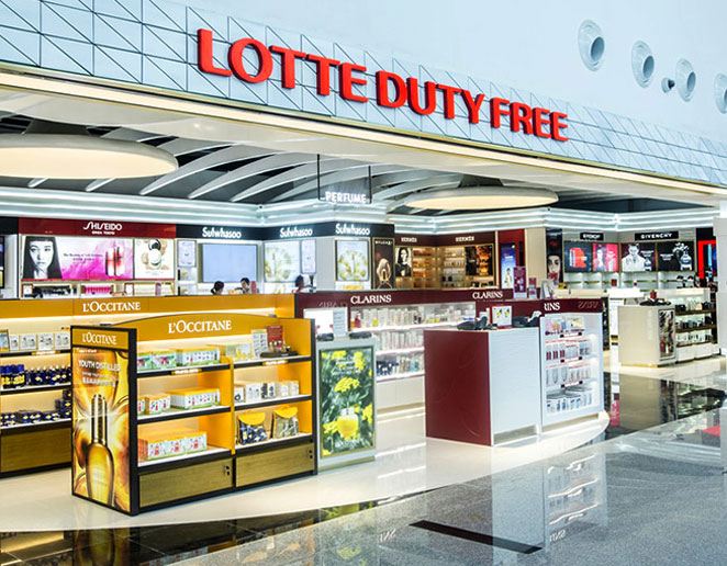 Lotte and Shilla close duty-free stores at South Korea's Incheon Airport