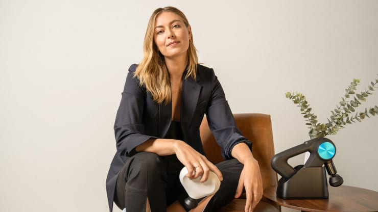 Tennis star Maria Sharapova invests in tech wellness company Therabody