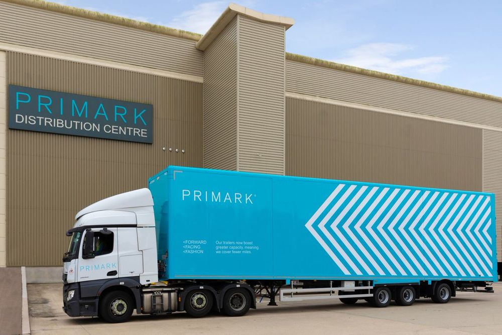 Primark introduces new energy efficient delivery trucks