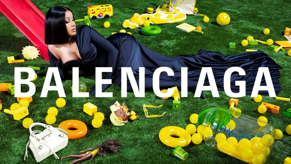 Cardi B announced as the new face of Balenciaga