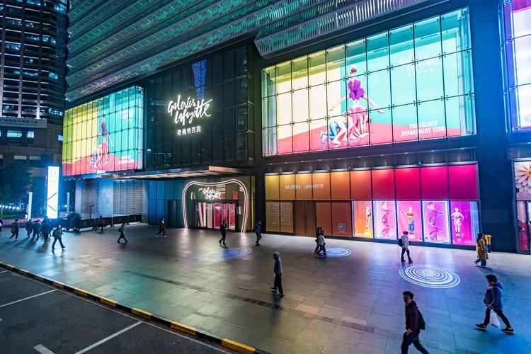 Galeries Lafayette to open third store in China