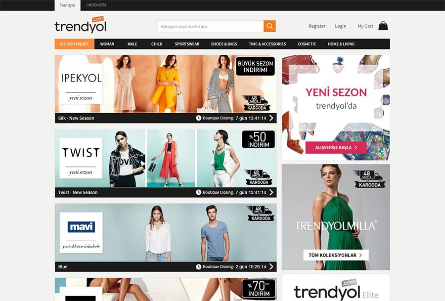 Turkey e-commerce giant Trendyol enters European market with new website