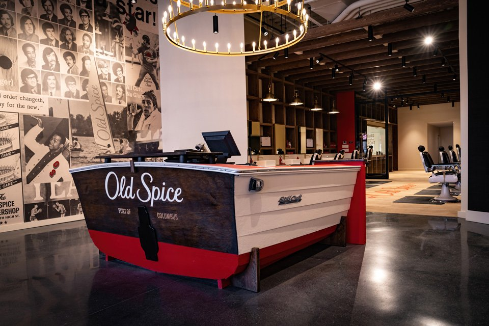 P&G's Old Spice opens first barbershop; doubles as content studio