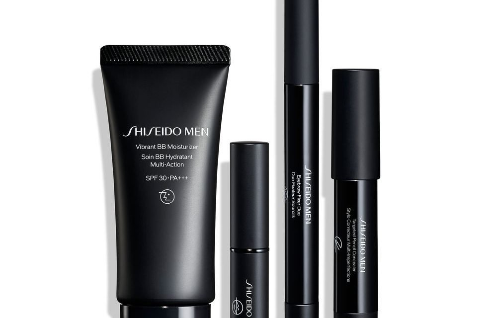 Shiseido relaunches male grooming range; adds male make-up