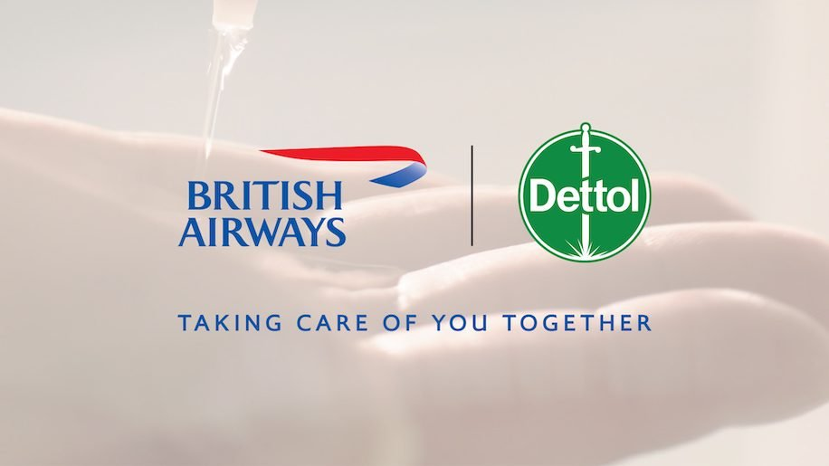 Dettol partners with British Airways to offer products on planes and airports